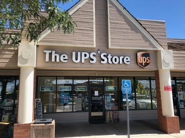 Facade of The UPS Store Parker