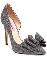 Image of Betsey Johnson Prince d'Orsay Evening Pumps