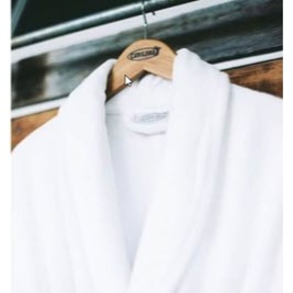 A Cariloha bathrobe
