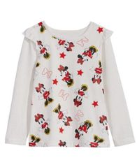 Image of Disney Little Girls Minnie Mouse T-Shirt