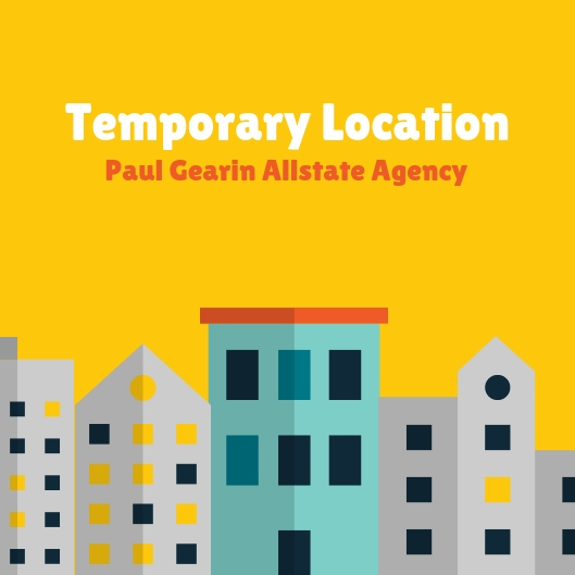 Paul Gearin - Come Visit Our Temporary Location!