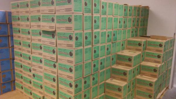 Westside Chamber of Commerce was at the Girl Scout Cookie vault.  See What got my attention.