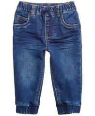 Image of First Impressions Baby Boys Cotton Denim Jogger Pants, Created for Macy's