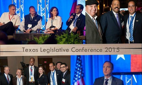 Agent Tony Ponce de Leon in the Texas Legislative Conference 2015