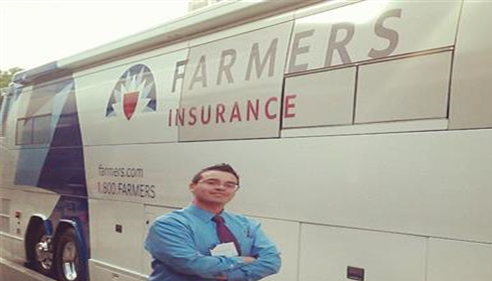 Farmers® Catastrophe Response Bus, We're there when you need us the most..