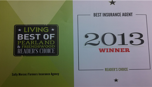 Voted Best Insurance Agent 2013!