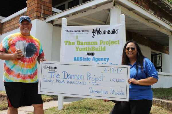 Byron Eaton - Allstate Foundation Helping Hands Grant for The Dannon Project