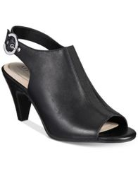 Image of Alfani Women's Jalenne Slingback Shooties, Created for Macy's