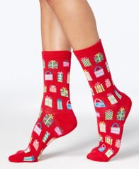 Image of Charter Club Women's Holiday Crew Socks, Created for Macy's