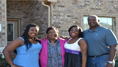 My family - Jasmine, Toni, Haley and myself.  We love living in McKinney!