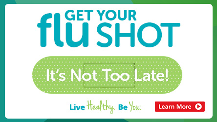 Get your Flu Shot It's not too late!