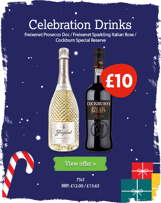 Christmas drink offer available until 31st December
