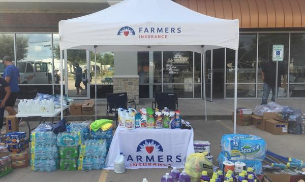 Hurricane Harvey Disaster Response, Together  We Are Farmer - Dickinson, Texas