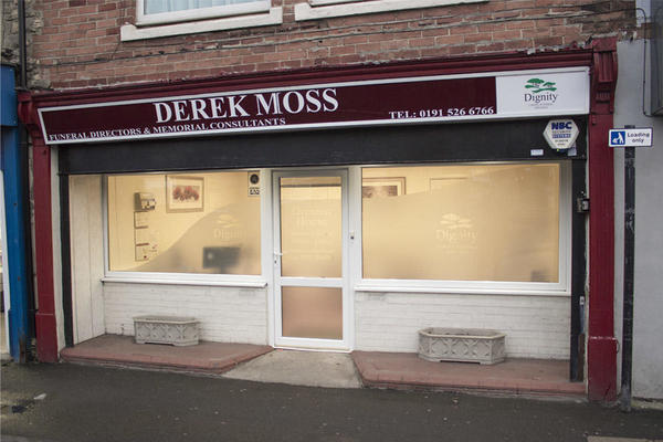 Derek Moss Funeral Directors in Hetton Le Hole, Houghton Le Spring