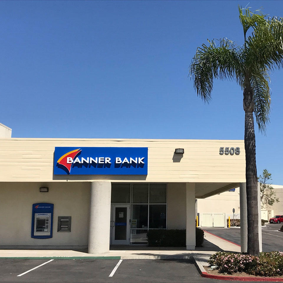 Banner Bank Balboa Clairemont branch in San Diego, California