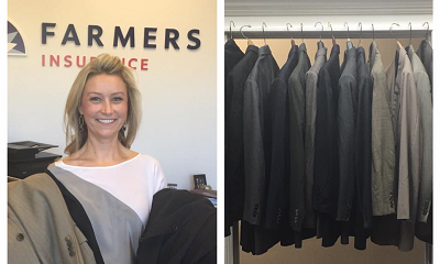 Collecting suits for Farmers® Suits for Soldiers