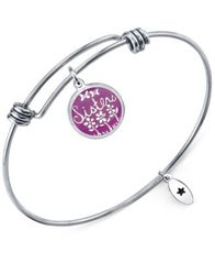 "Image of Unwritten ""Sisters"" Adjustable Message Bangle Bracelet in Stainless Steel"
