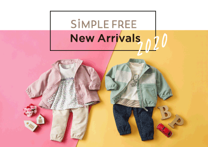 【12/1-12/31】SiMPLE FREE New Arrivals 2020