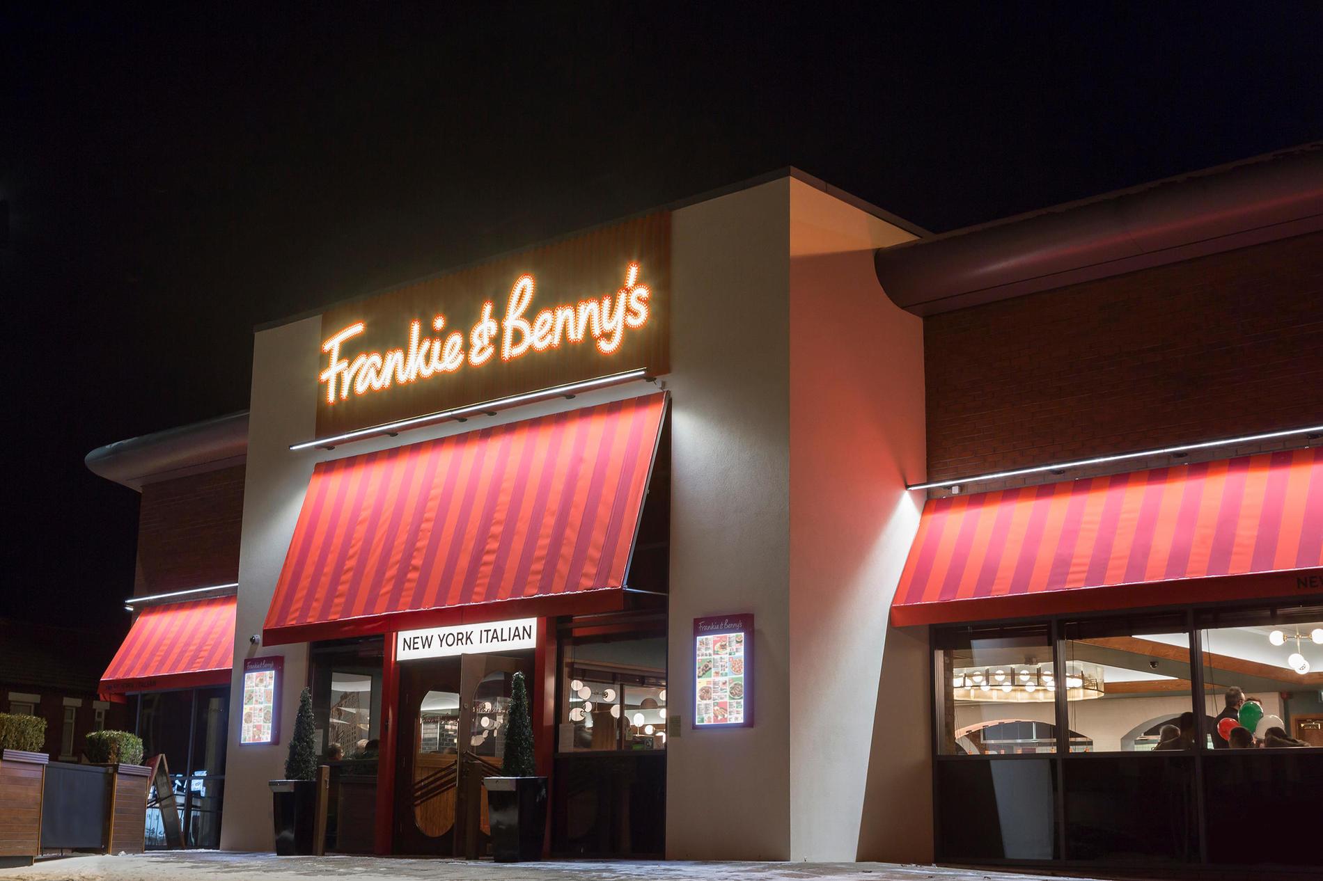 Frankie Bennys Preston Italian American Take Out