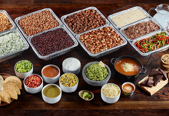 Qdoba Catering Display Picture