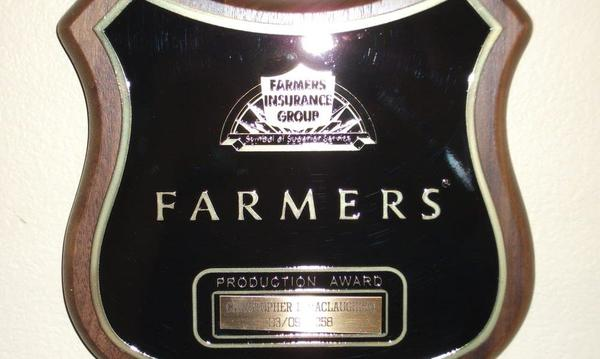 Farmers Production Award