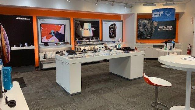 Nittany Mall AT&T Store Interior (Left)