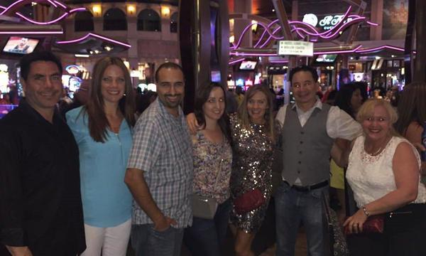 Some of our team in Las Vegas!