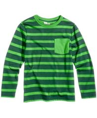 Image of Epic Threads Striped Long-Sleeved Shirt, Little Boys (4-7), Created for Macy's