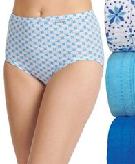 Image of Jockey Elance Brief 3 Pack 1484 1486, also available in Plus sizes