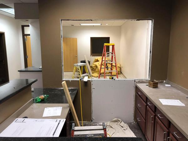 Office renovations