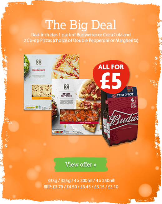 The Big Deal offer available until 14th July