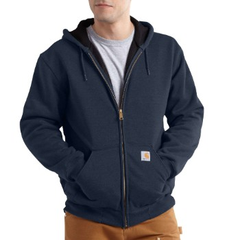Image of RAIN DEFENDER® RUTLAND THERMAL-LINED HOODED ZIP-FRONT SWEATSHIRT