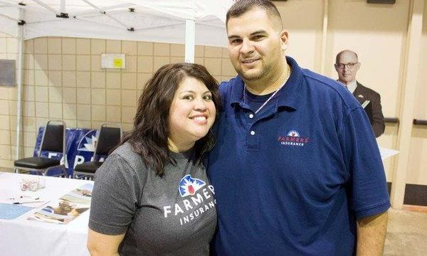 working in the community at a car show at Amarillo civic center