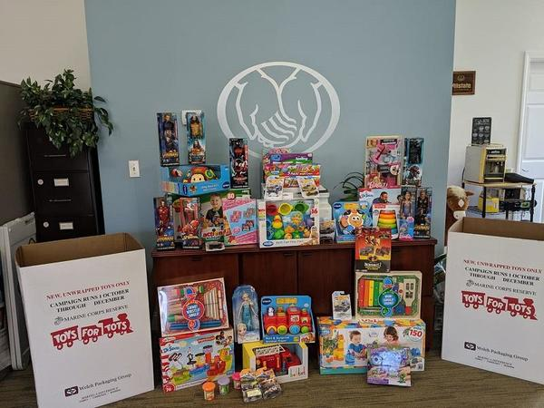 Scott Sherman - Support for Marine Toys for Tots