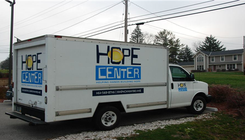 Hope Center-helps provide food & clothing to 5000 local families every month