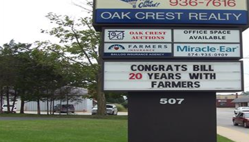 Congratulations sign.