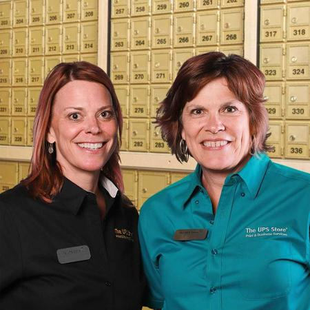 Two Female Store Associate Store Owners
