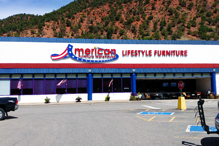 American Furniture Warehouse At 3200 S Glen Ave Glenwood Springs Co