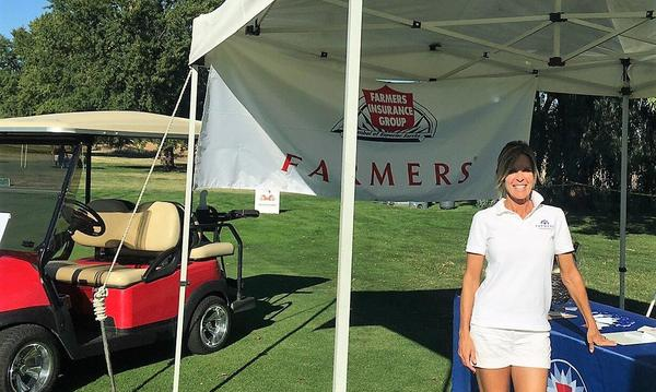 Farmers® Booth, Wine and Wheels Event in Rancho Murieta 18th Hole
