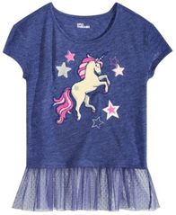 Image of Epic Threads Big Girls Mesh-Inset Graphic T-Shirt, Created by Macy's