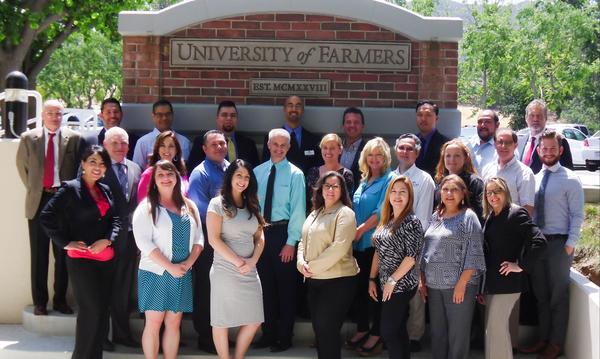 University of Farmers® Class of May 2016!