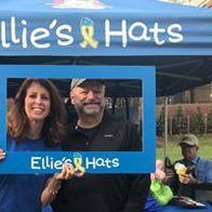 Elllie's Hats Pancake Breakfast Sponsor and Volunteers.  Ellie's Hats is a South Riding, VA non-profit supporting children with Cancer and their families.