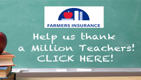 HELP US THANK A MILLION TEACHERS!