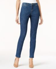 Image of Style & Co Curvy-Fit Two-Pocket Skinny Jeans, Created for Macy's