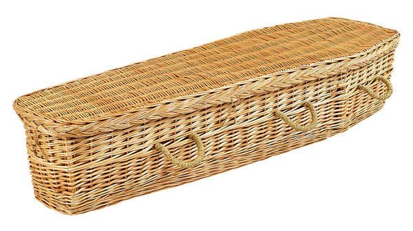 Willow Coffin from Our Natural Collection
