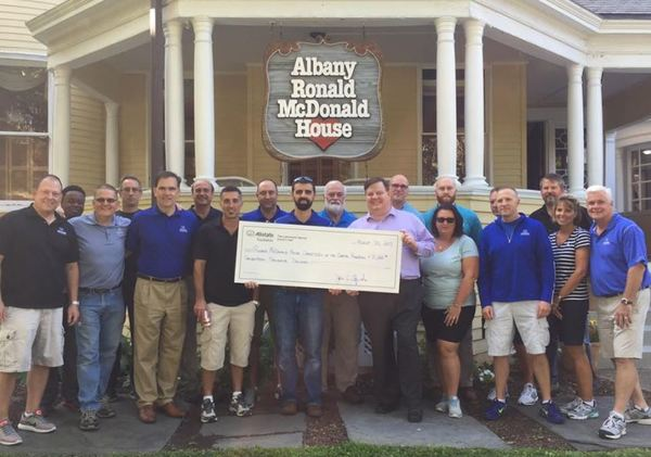 Edward Brys - Allstate Foundation Helping Hands Grant for Ronald McDonald House Charities of the Capital Region