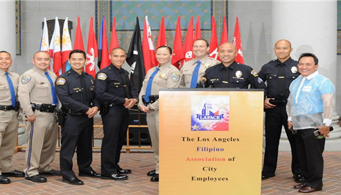 Philippine Independence Day Celebrationwith FilAm LAPD and CHP officers