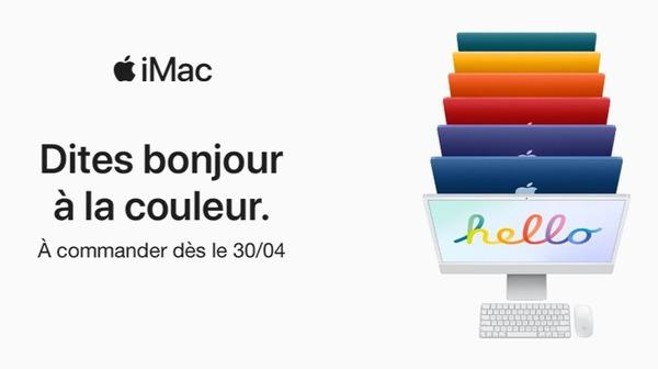 Nouveaux IMac M1 surpuissant - Magasin Boulanger Bourges ...