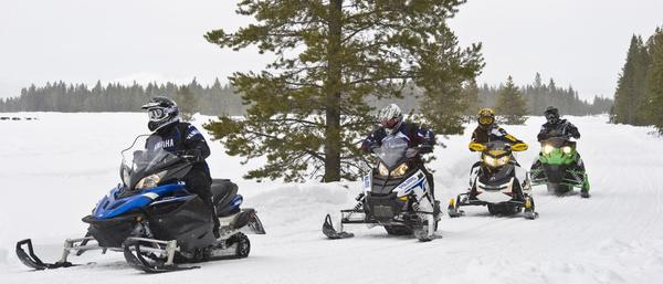 Snowmobiles need coverage too.