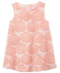 Image of First Impressions Rose Dress, Baby Girls, Created for Macy's